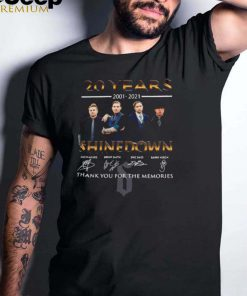20 Years 2001 2021 Shinedown Signature Thank You For The Memories T shirt (1)