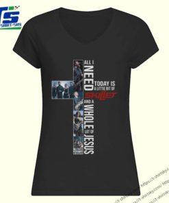All I need today is a little bit of Skillet and a whole lot of Jesus shirt 1