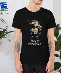Best Friends Monkey D. Luffy Roronoa Zoro Sanji One Piece shirt