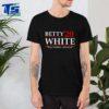 Betty'20 White Stay Golden America Tee Shirt