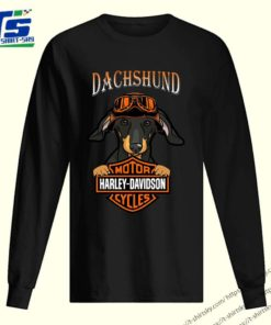 Dachshund Motor Harley Davidson cycles shirt 2