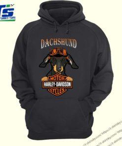Dachshund Motor Harley Davidson cycles shirt 4
