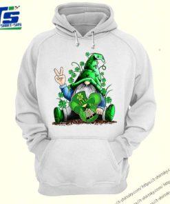 Gnome hug Mickey clover Irish St. Patrick's day shirt 4