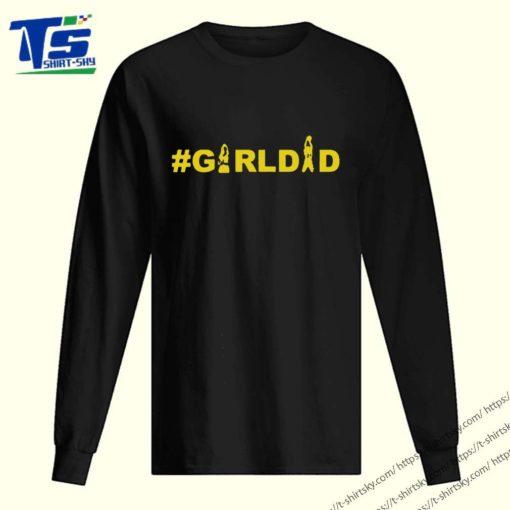 Kobe And Gianna Bryant Girl Dad girldad Tee Shirt 2