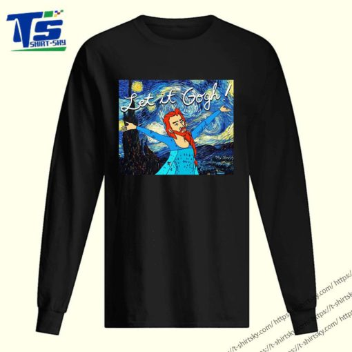 Let it Gogh Starry night shirt 2