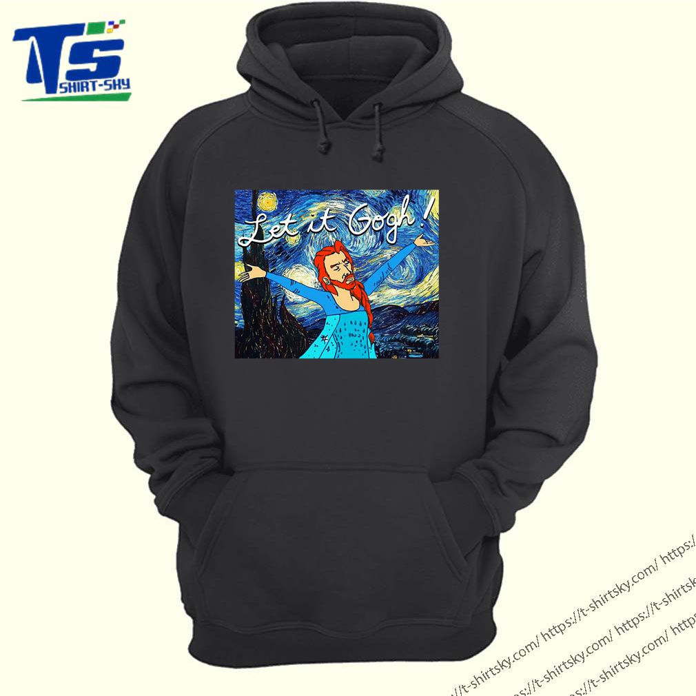 Let it Gogh Starry night shirt 4