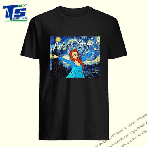 Let it Gogh Starry night shirt 5