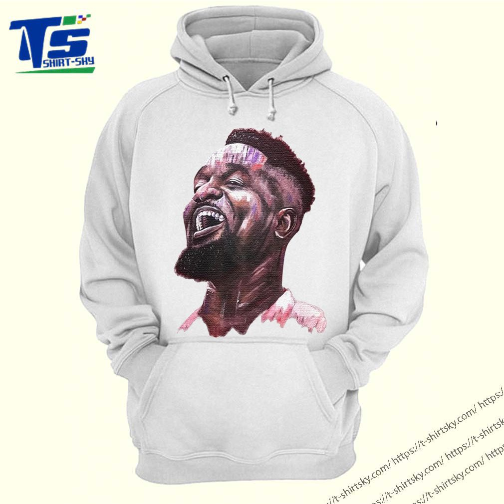 Sarkodie Fan Painting Oofeetso Shirt 4