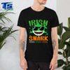 St Patricks Day Irish Shark Funny Gift For Men Women Kids shirt