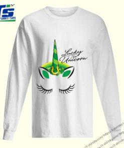 St. Patricks Day Unicorn Shamrock for the Irish shirt