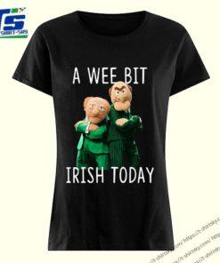 Statler And Waldorf A Wee Bit Irish Today Shirts 3