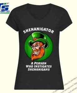 Top Shenanigans Funny Shenanigator St Patricks Day shirt 1