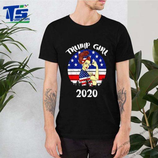 Trump Girl Trump Supporters 2020 Shirt
