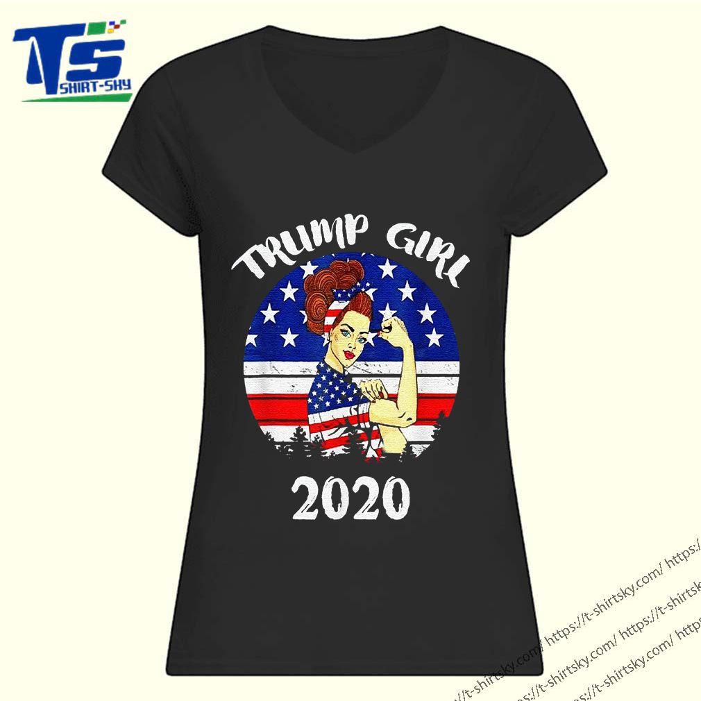 Trump Girl Trump Supporters 2020 Shirt 1