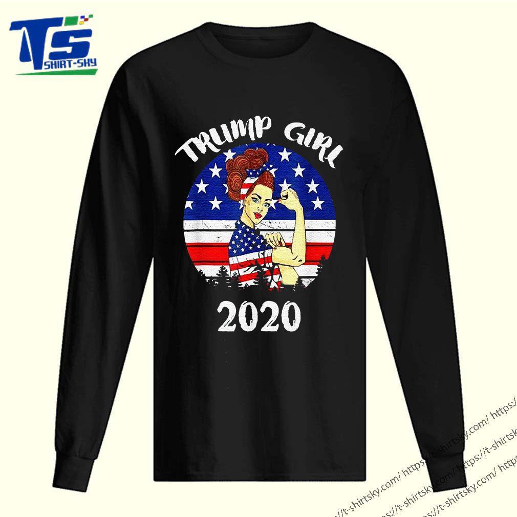 Trump Girl Trump Supporters 2020 Shirt 2