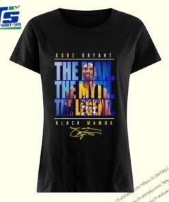 24 Kobe Bryant The Man The Myth The Legend Black Mamba Signature shirt