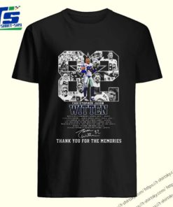 82 Christopher Jason Witten signature thank you for the memories shirt