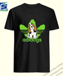 Addidos Basset Hound shirt