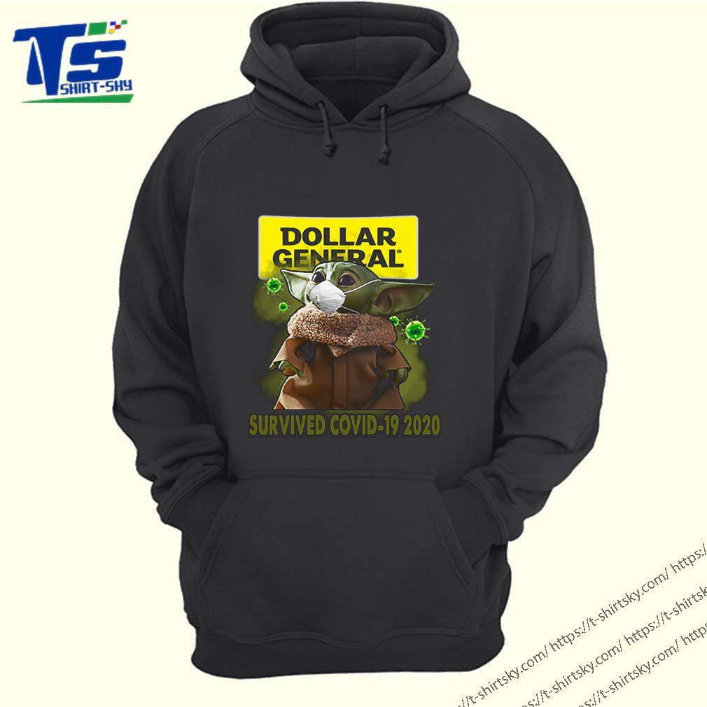 Baby Yoda Dollar General Survived Covid-19 2020 shirt