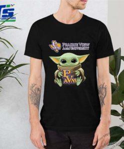 Baby Yoda Prairie View A&M University Unisex T-Shirt