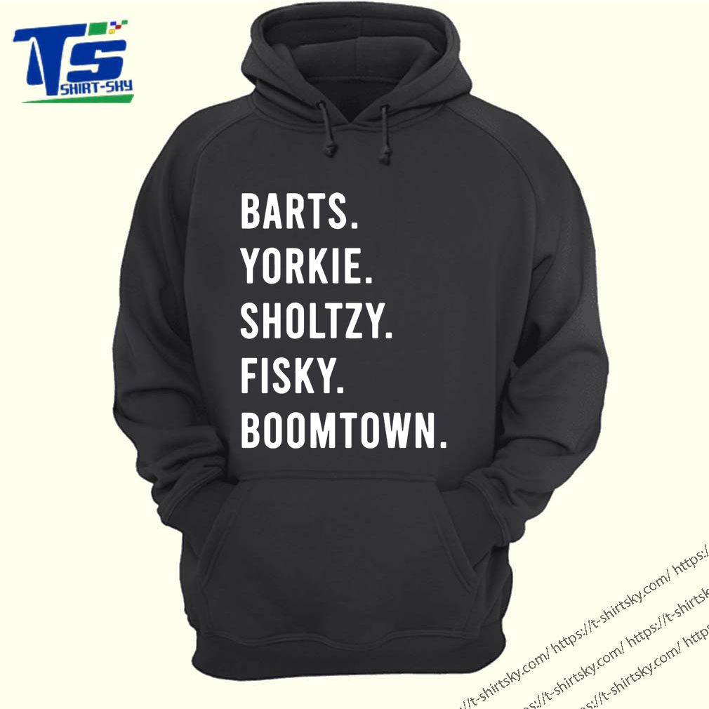 Barts yorkie sholtzy fisky boomtown Unisex T-Shirt