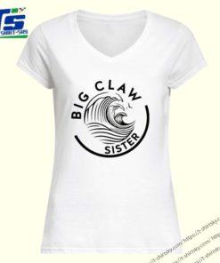 Big claw sister baseball shirt