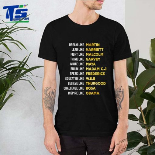 Black Power Shirt History Month African American Pride Gift T-Shirt