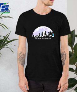 Born to drum moon mashup Abbey Road shirt
