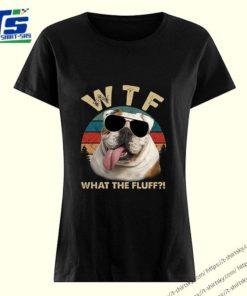 Bulldog WTF what the fluff vintage shirt