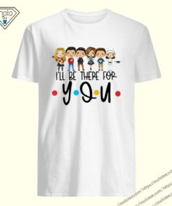 Friends TV show characters chibiI'll be there for you shirt