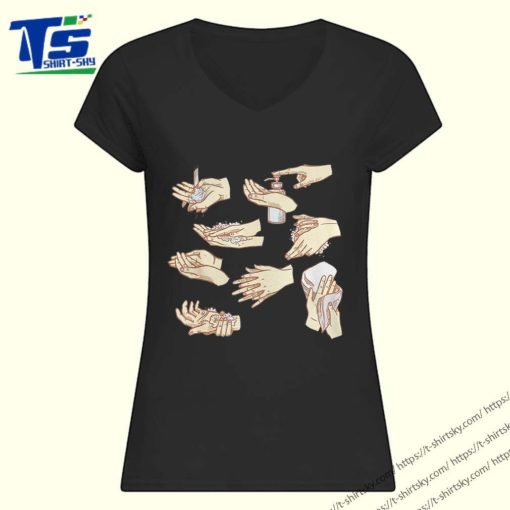 How to wash your hands shirt