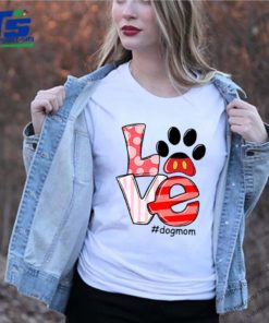 Love Mickey Mouse dogmom shirt