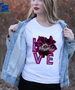 Love Momlife Anemone purple shirt