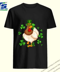 Original Chicken St Patrick's Day Irish Chicken Lovers Girls Boy Gift shirt