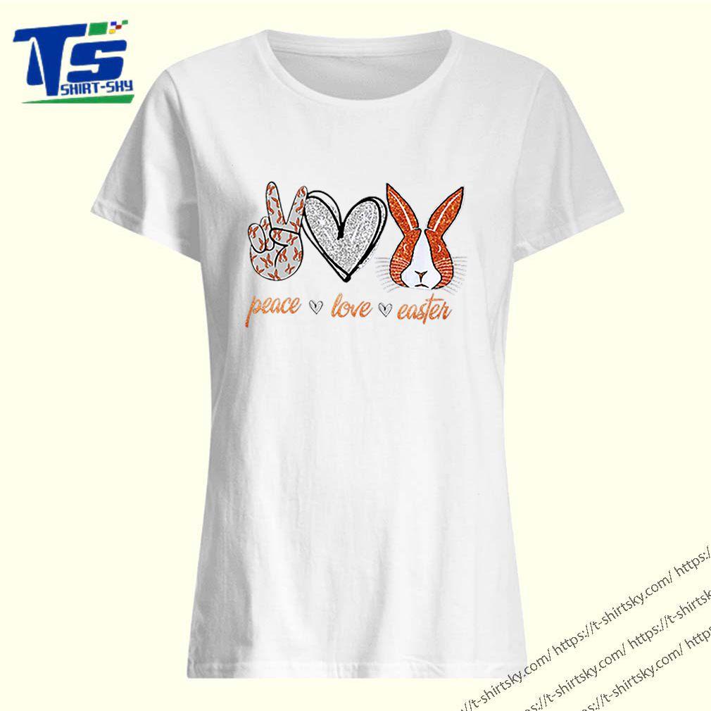 Peace Love Easter Bunny shirt