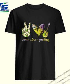 Peace Love Guitars special version shirt