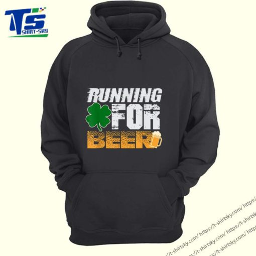 Running For Beer Funny St. Patrick's Day Irish Gift