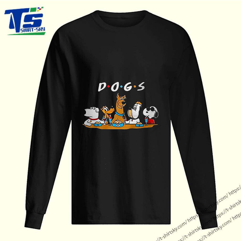 Scooby-Doo Snoopy Dogs Friends shirt
