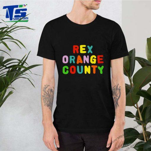 rex orange county merch t-shirts
