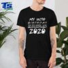 35th Birthday Quarantine For T-Shirt – The One Where I Was Quarantined 2020