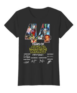 44 Years Of Star Wars 1977 2021 Signatures
