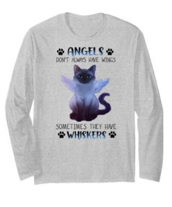 Angels Cat don't always have wings sometimes they have whiskers