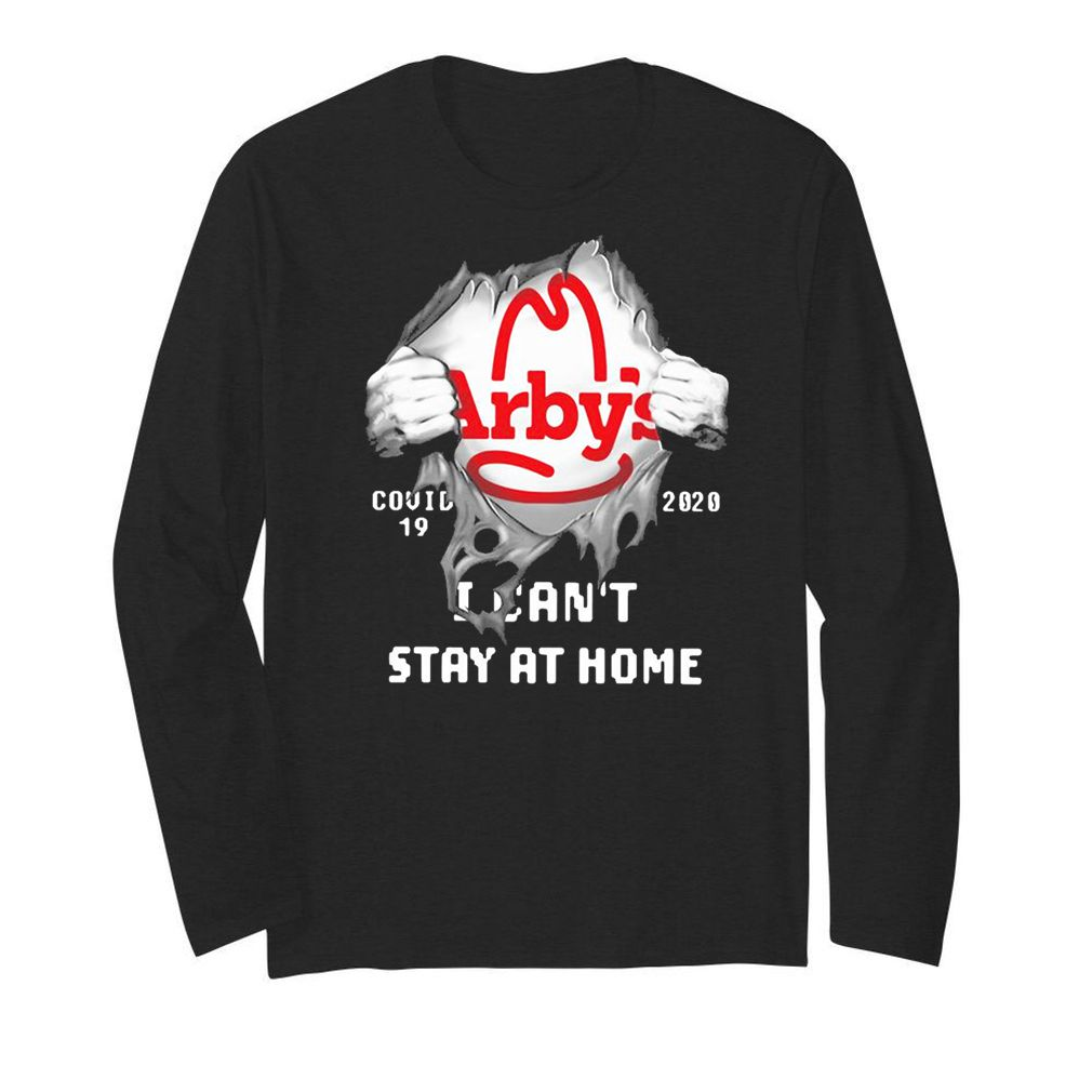 Arby's Inside Me Covid-19 2020 I Can't Stay At Home