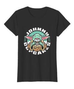 Baby Yoda eat Johnny Cupcakes Star Wars