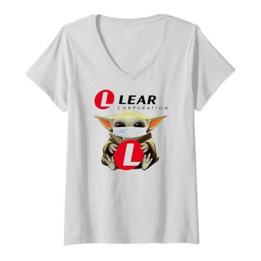 Baby Yoda mask Lear Corporation Coronavirus