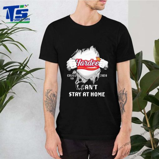 Blood Inside me Hardee's covid-19 2020 i can't stay at home