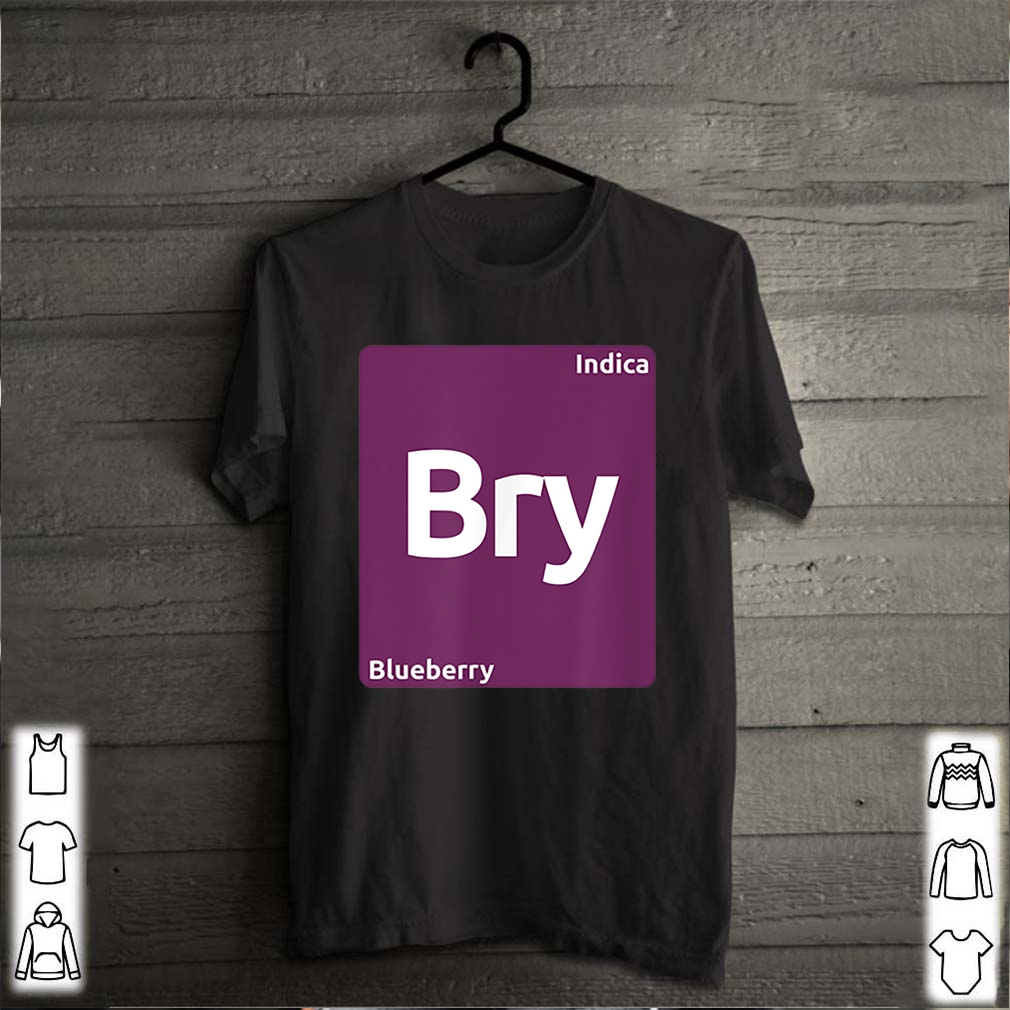 Blueberry Indica Cannabis Strain Periodic Table