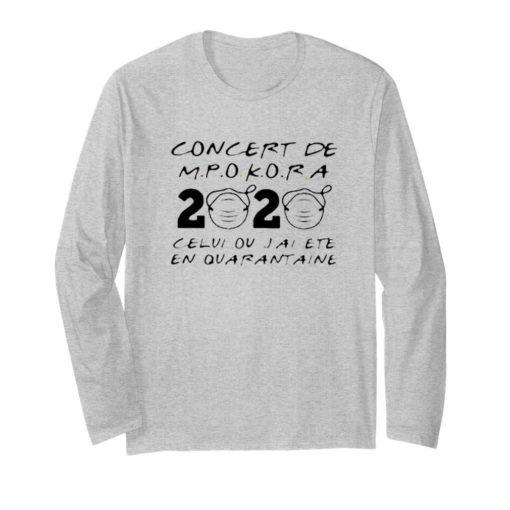 Concert De M Pokora 2020 Celui Ou J'Ai Ete En Quarantaine Mask Covid 19