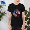 Dachshund Dogs Sunflower American Flag