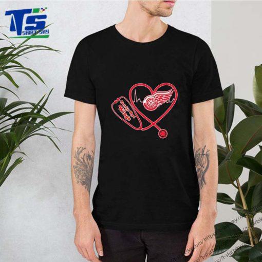 Detroit Red Wings Stethoscope Heartbeat